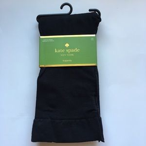 Kate Spade black tights s/m